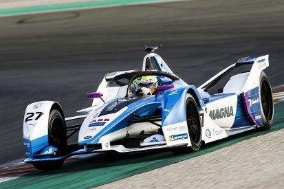 Formula E 2018/19: BMW's Sims leads Valencia Gen2 testing day one