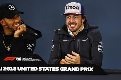 Alonso glad Hamilton will match Fangio's five F1 world championships