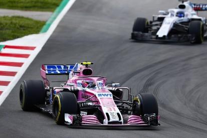 Williams working on signing Esteban Ocon for 2019 F1 season