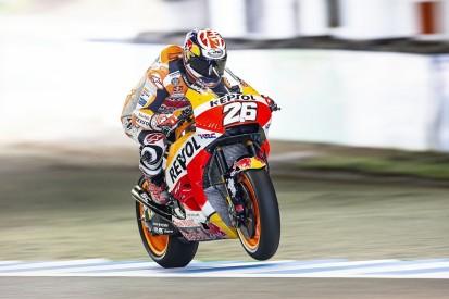 Honda MotoGP rider Dani Pedrosa tops Motegi second practice