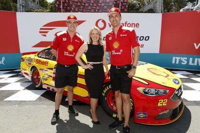 Supercars' Scott McLaughlin 'holding on' in Penske NASCAR demo run