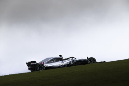 US Grand Prix F1 practice: Lewis Hamilton fastest in wet FP1