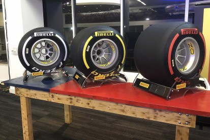 Pirelli reveals changed colour range for 2019 F1 tyres