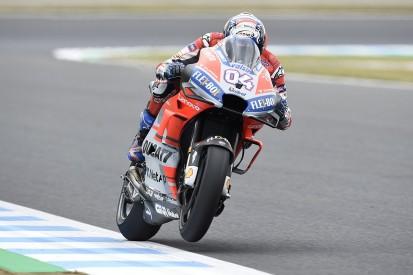 Motegi MotoGP: Andrea Dovizioso back on top for Ducati in practice