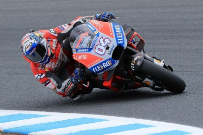 Motegi MotoGP: Dovizioso on pole, Marquez only sixth after FP4 crash