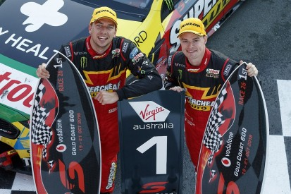 Supercars Gold Coast: Chaz Mostert and James Moffat win opener