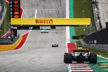 Pirelli orders F1 teams to increase rear tyre pressures at US Grand Prix
