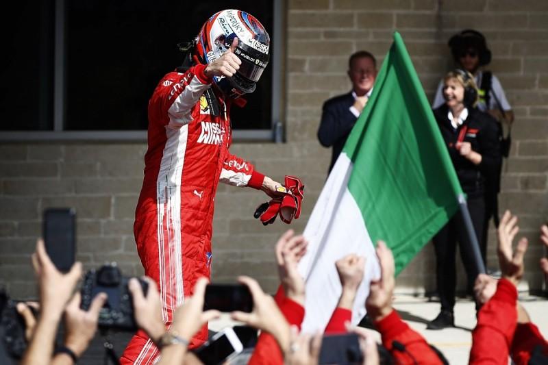 Kimi Raikkonen wins thrilling F1 United States Grand Prix