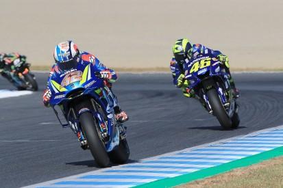 Valentino Rossi says Suzuki now 'stronger' in MotoGP than Yamaha