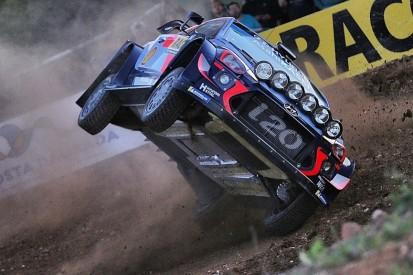 WRC Rally Spain: Points leader Neuville rolls Hyundai on shakedown