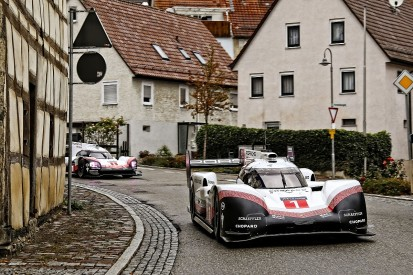 Webber drives 919 Evo in public as car is given to Porsche museum