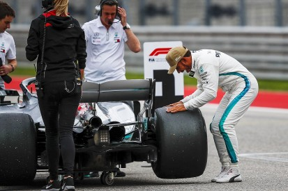 Mercedes' controversial F1 wheel design cleared by Mexican GP stewards