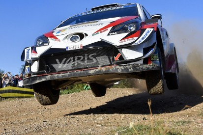 WRC Rally Spain: Tanak trumps title rivals to lead on Friday morning