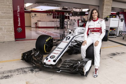 Calderon to get first F1 run with Sauber at Mexico filming day
