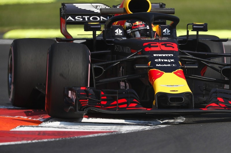 Mexican Grand Prix practice: Max Verstappen leads Red Bull one-two