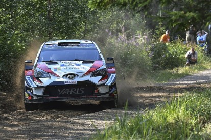 WRC Finland: Tanak holds narrow lead over Ostberg, Neuville 10th