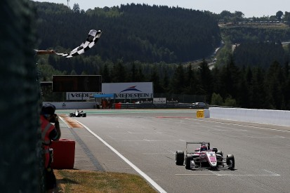 F3 Spa: Force India junior Daruvala wins incident-filled first race