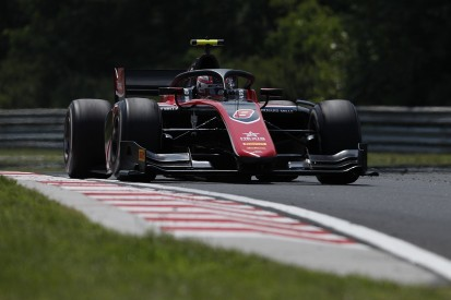 Hungaroring F2: George Russell leads practice, more start problems