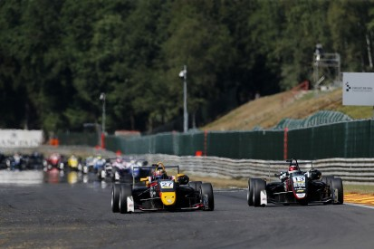 Dan Ticktum wins F3 race two at Spa from 10th on the grid
