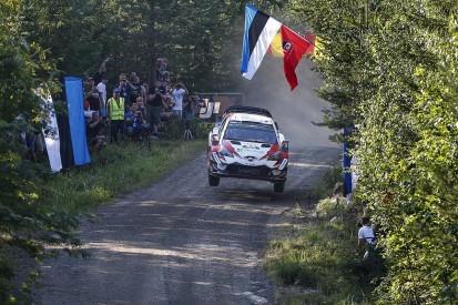 WRC Rally Finland: Ott Tanak edges clear after close Ostberg battle