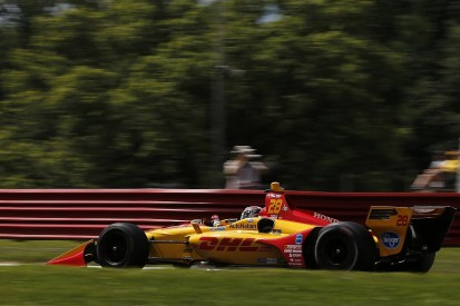 Mid-Ohio IndyCar: Andretti's Ryan Hunter-Reay leads Friday practice