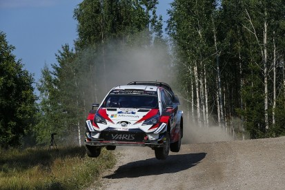 WRC Rally Finland: Tanak charges with clean sweep of stage wins