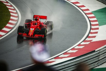 Ferrari F1 car 'not as competitive' as Mercedes' in the wet says Vettel