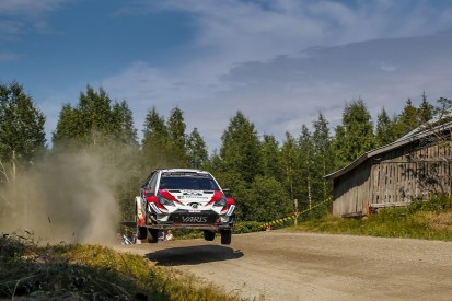 WRC Finland: Toyota's Ott Tanak storms clear of rival Mads Ostberg