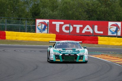 Spa 24 Hours: Land Audi leads Rowe Racing BMW after six hours