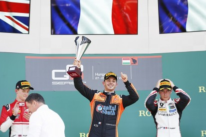 Dorian Boccolacci gets MP Motorsport's first GP3 win in Hungary