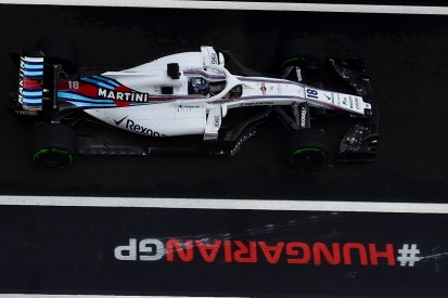 Lance Stroll's Hungarian GP qualifying crash costs new front wing