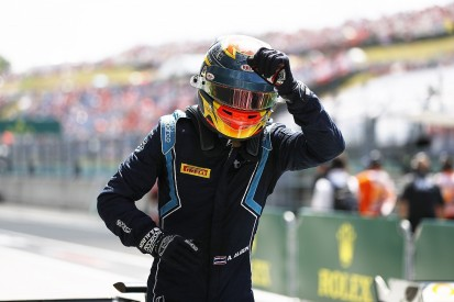 F2 Hungary: Albon wins race two as Russell recovers to final point