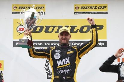BTCC Snetterton: Jack Goff beats Ash Sutton in thrilling finish