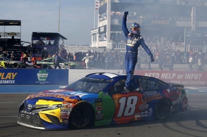 Pocono NASCAR: Kyle Busch wins despite qualifying controversy