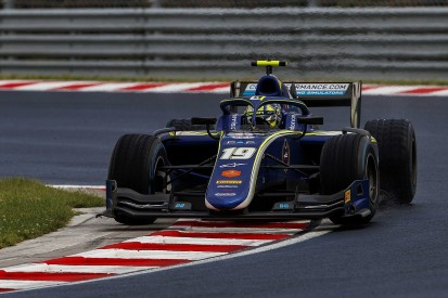 Norris: Broken front wing to blame for Hungary F2 feature race loss