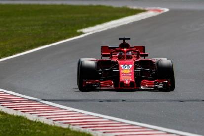 Hungaroring testing: Giovinazzi fastest for Ferrari on first morning
