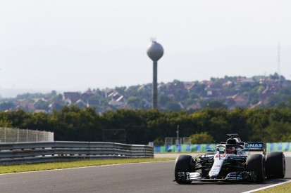 Mercedes' Russell ends Hungary F1 test on top with unofficial record