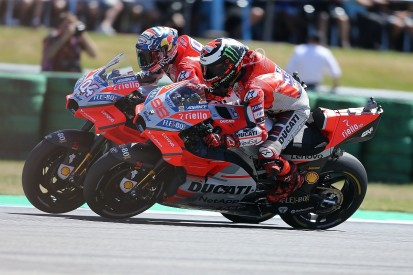 War of words breaks out between Lorenzo and Dovizioso in MotoGP