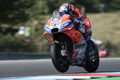 MotoGP Brno: Ducati's Dovizioso beats Rossi and Marquez to pole