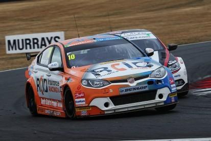 AmD Tuning MG BTCC team shuffles driver line-up again