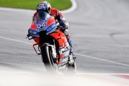 MotoGP Austria: Dovizioso and Lorenzo lead Ducati 1-2-3 in FP1
