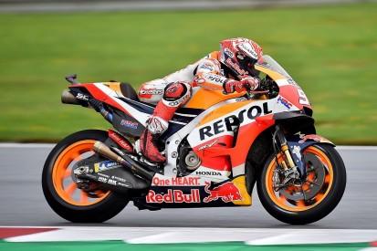 MotoGP Austria: Honda's Marquez heads Redding in delayed wet FP2