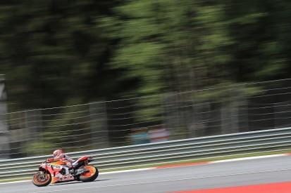 MotoGP Austria: Marquez dominates damp FP3, Rossi to contest Q1