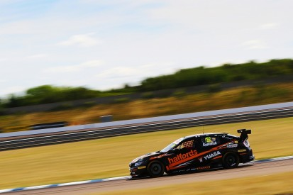 BTCC Rockingham: Cammish fastest across two practice sessions