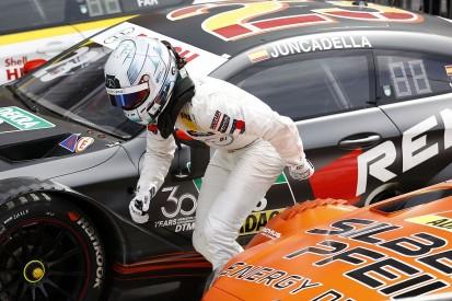 DTM Brands Hatch: Mercedes' Juncadella wins race one, Farfus second