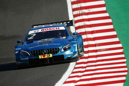 Paffett beats DTM title rival di Resta to pole for Brands race two