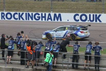 BTCC Rockingham: Sutton strengthens title defence with race two win
