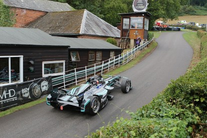 Jaguar's Evans sets electric record as Shelsley Walsh marks 113 years