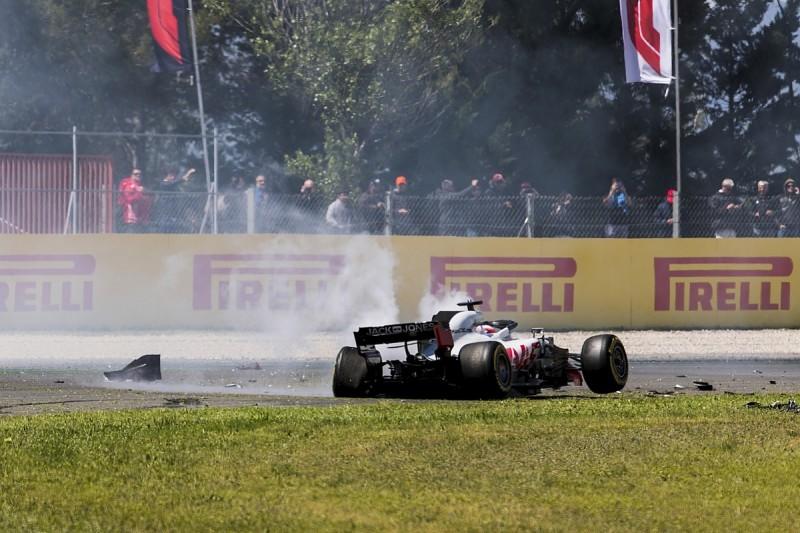 Haas driver Grosjean's F1 struggles like poor Djokovic tennis form