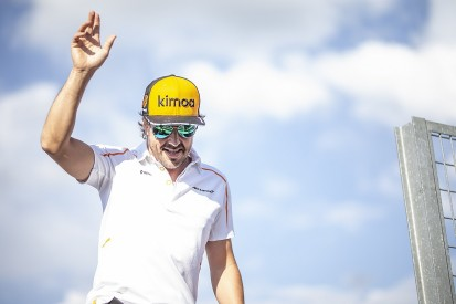 Fernando Alonso will not race in Formula 1 in 2019